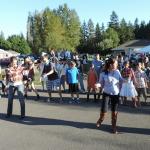 Line dancing.